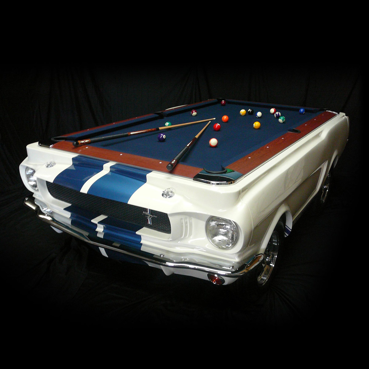 Cool Pool Tables >> 1965 Shelby GT 350 Pool Table - The Green Head