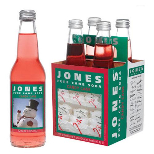 Jones Soda 2008 Holiday Packs The Green Head
