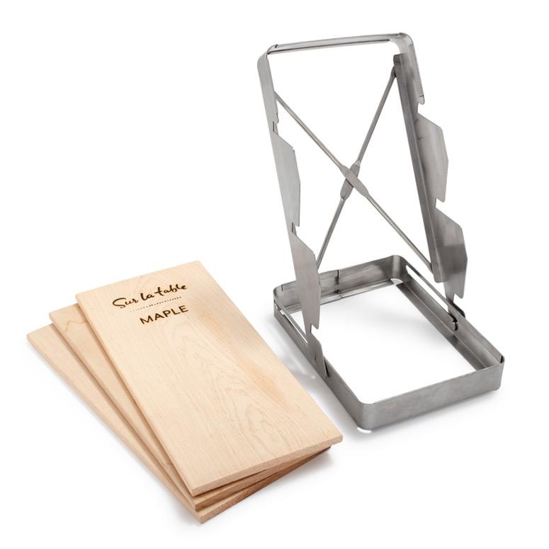 3 tier cedar plank holder