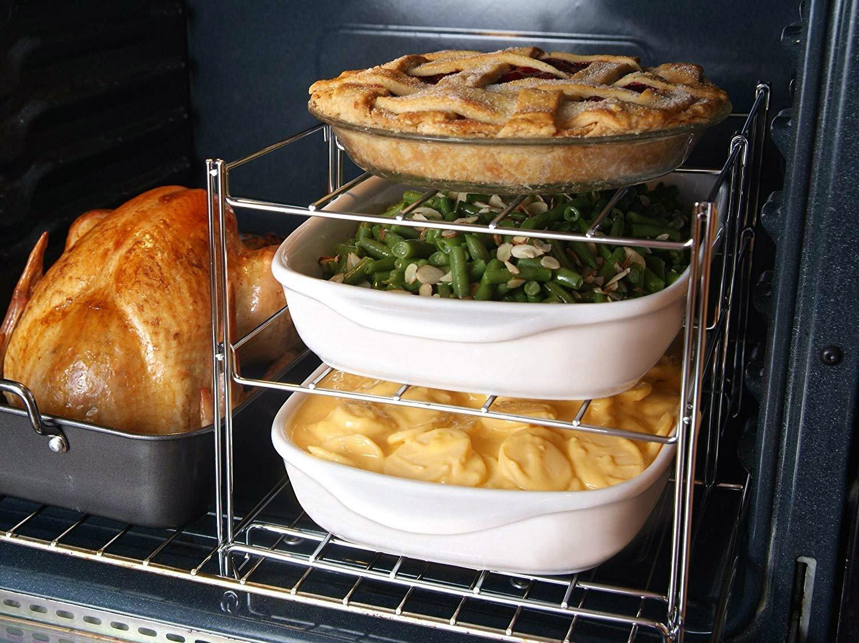3tier oven baking rack