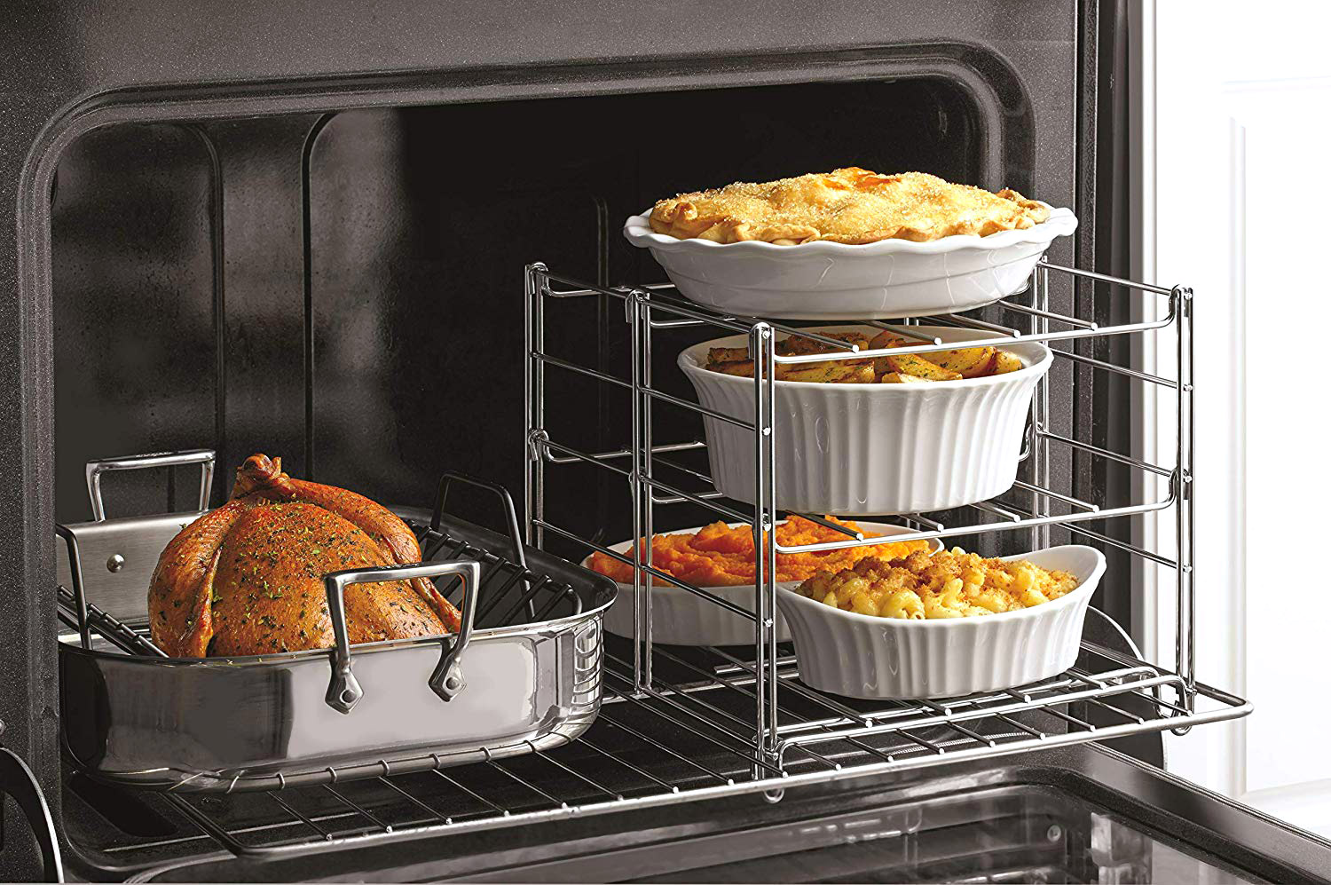 3-Tier Oven Baking Rack - The Green Head