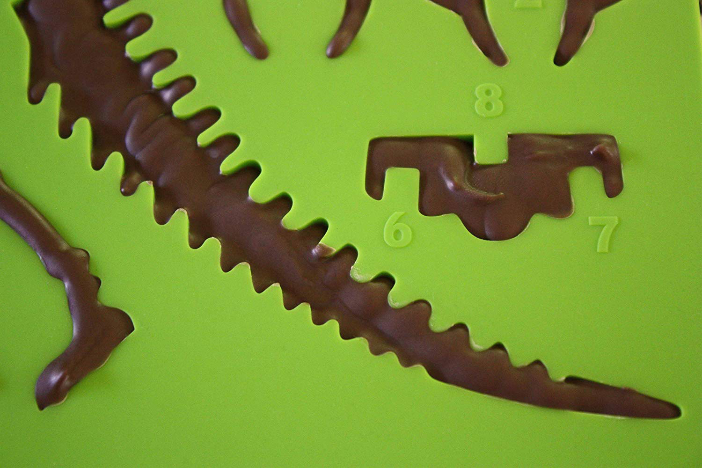 3d T Rex Chocolate Dinosaur Mold