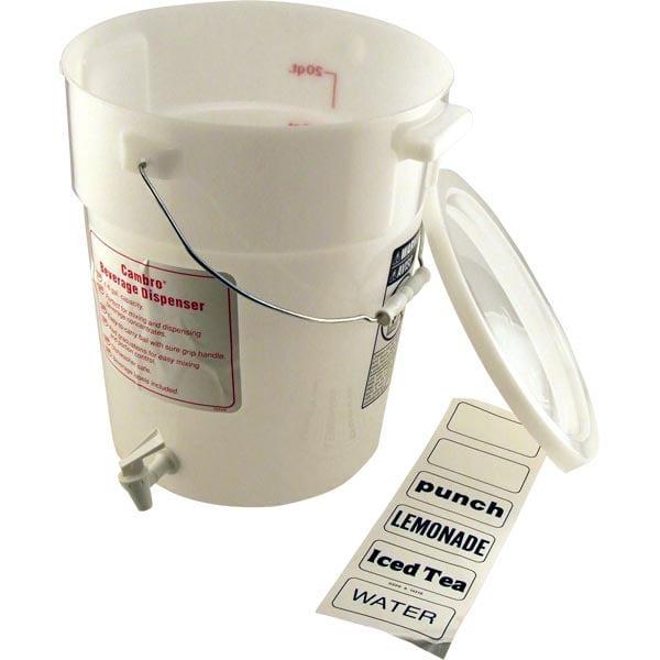 6 Gallon Beverage Bucket Dispenser