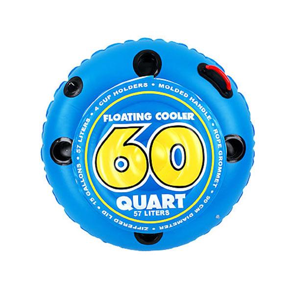 SportsStuff 60 Quart Inflatable Floating Cooler - The ...