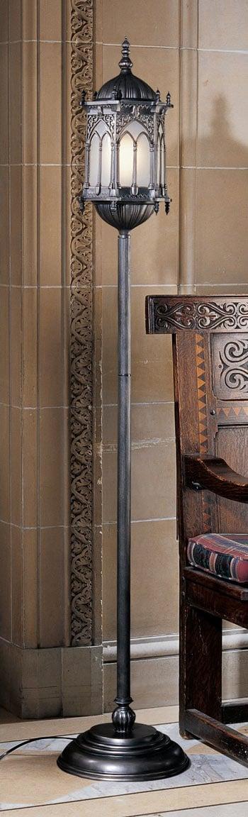 Aberdeen Manor Gothic Lantern Floor Lamp
