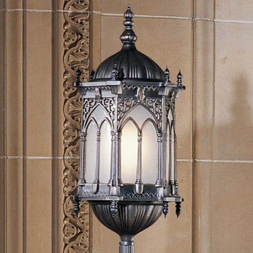 Aberdeen Manor Gothic Lantern Floor Lamp The Green Head