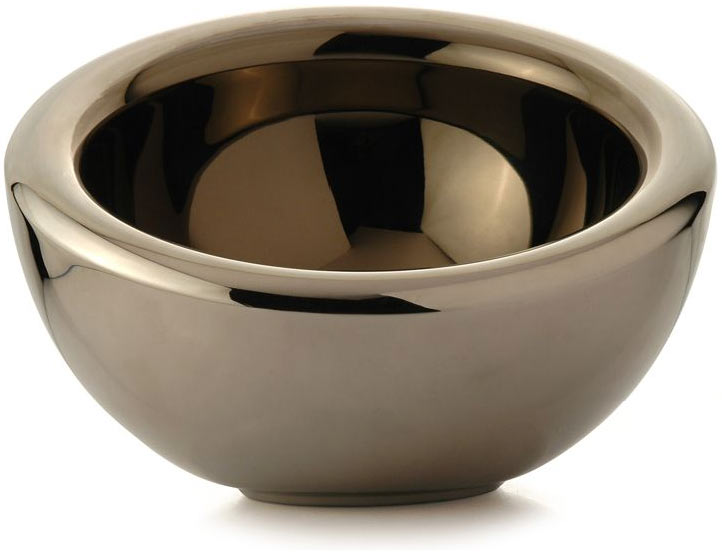 Achille Tilted Stainless Steel Candy Bowl The Green Head