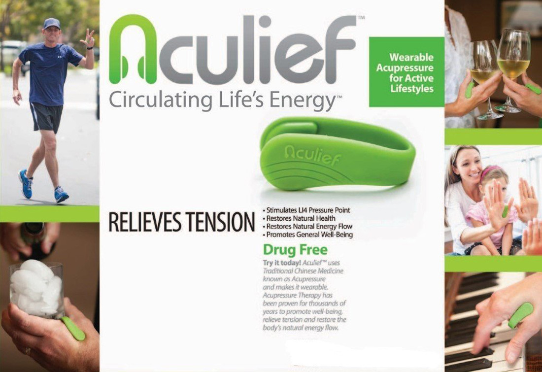 Aculief - Wearable Acupressure Headache and Tension Reliever