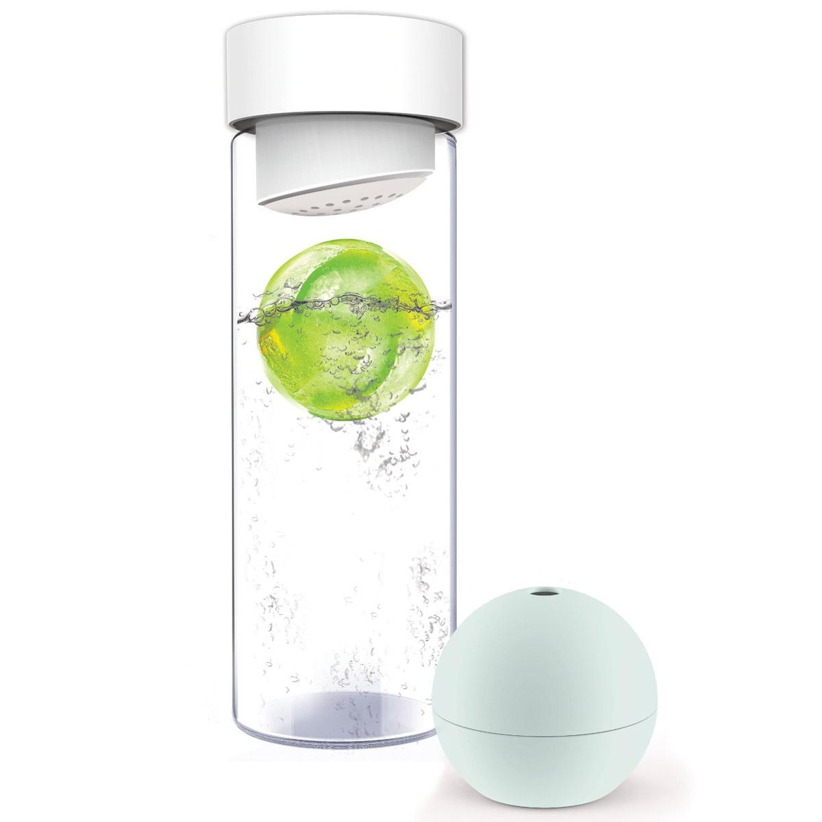 Ice Ball Flavor It Water Bottle The Green Head