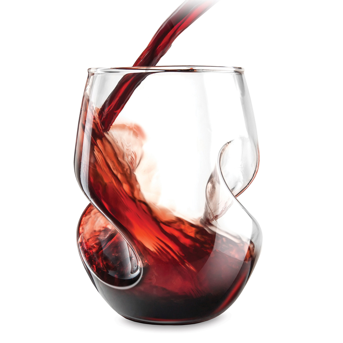 aerating stemless wine glasses the green head. Black Bedroom Furniture Sets. Home Design Ideas