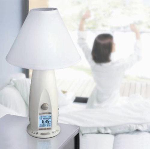Verilux Rise And Shine Alarm Clock Lamp The Green Head