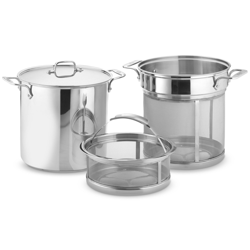 All-Clad Stainless Steel Multi Pot With Mesh Inserts
