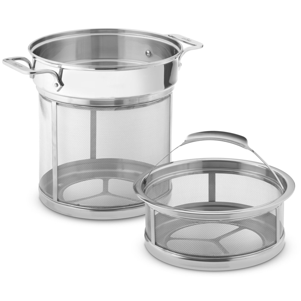 All clad stainless steel cookware sets - All Clad Stainless Steel Multi Pot With Mesh Inserts