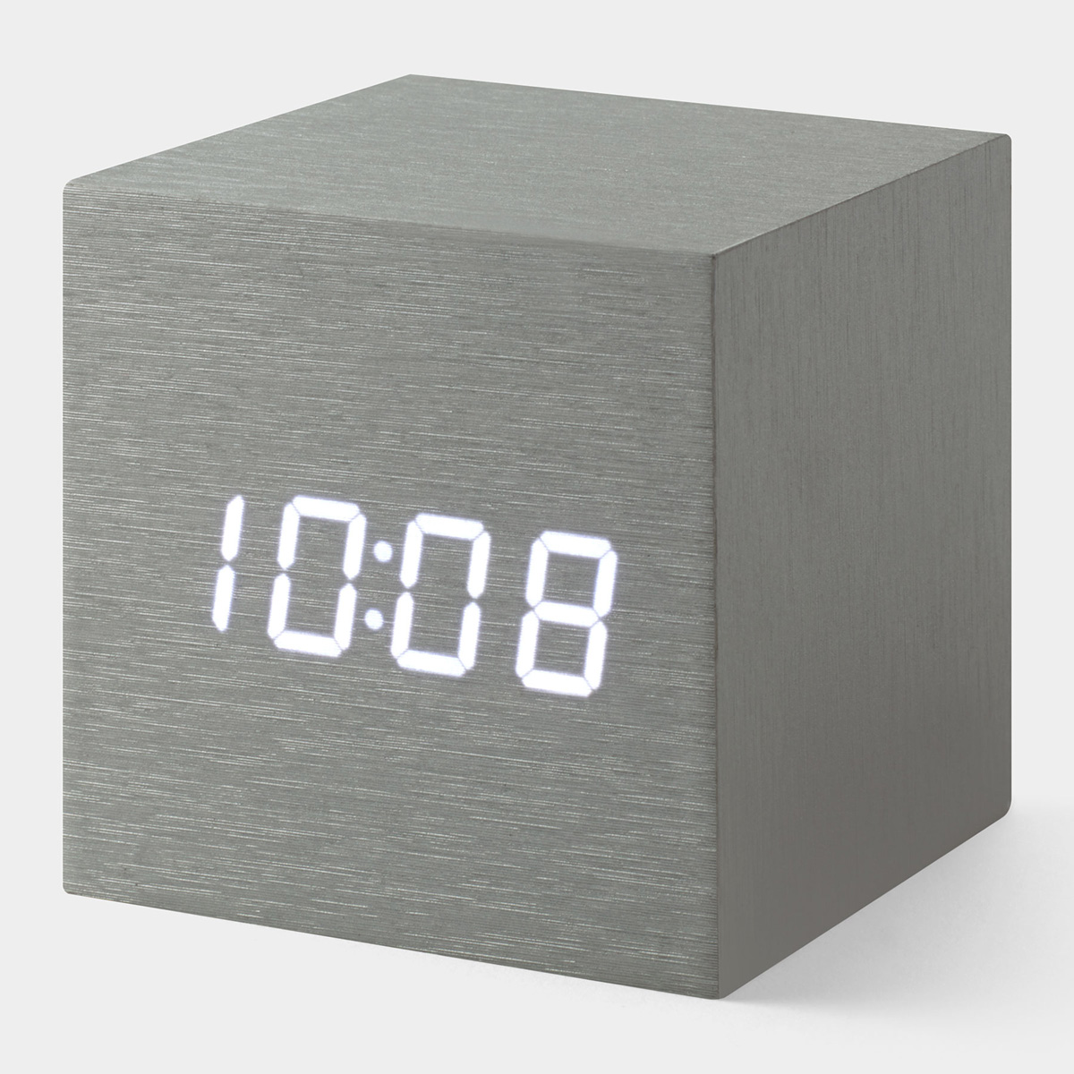 Alume Cube Alarm Clock The Green Head