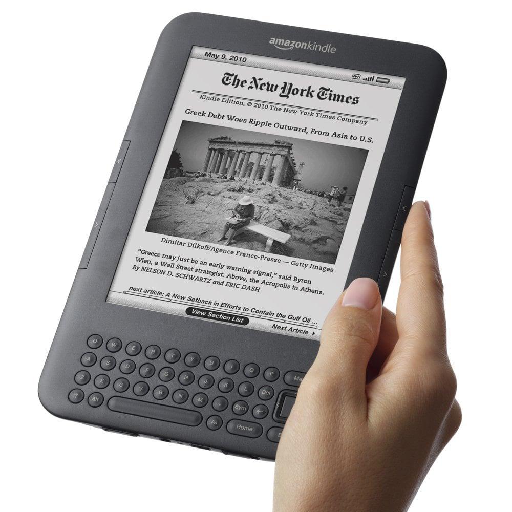 Amazon: Amazon Kindle 3
