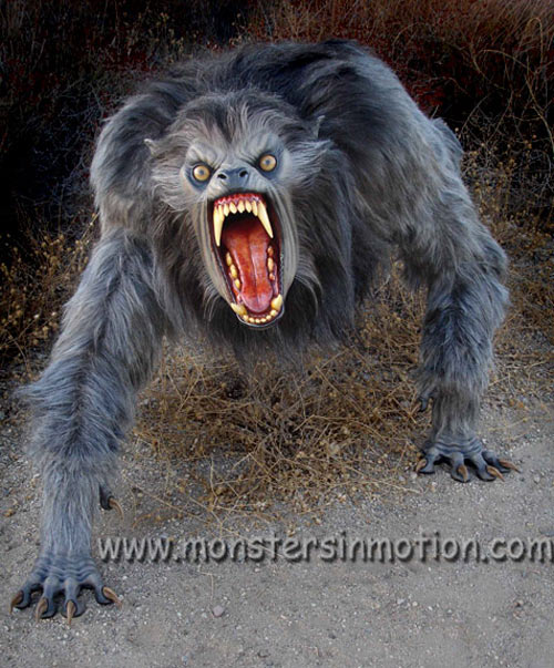 An American Werewolf In London Lifesize Prop The Green Head