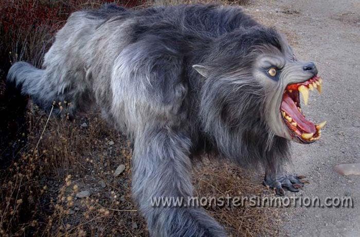 an american werewolf in london lifesize prop
