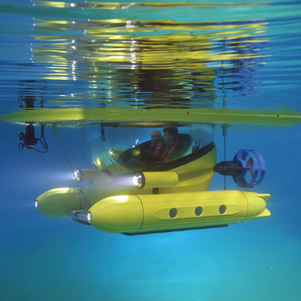Amphibious Sub Surface Watercraft The Green Head