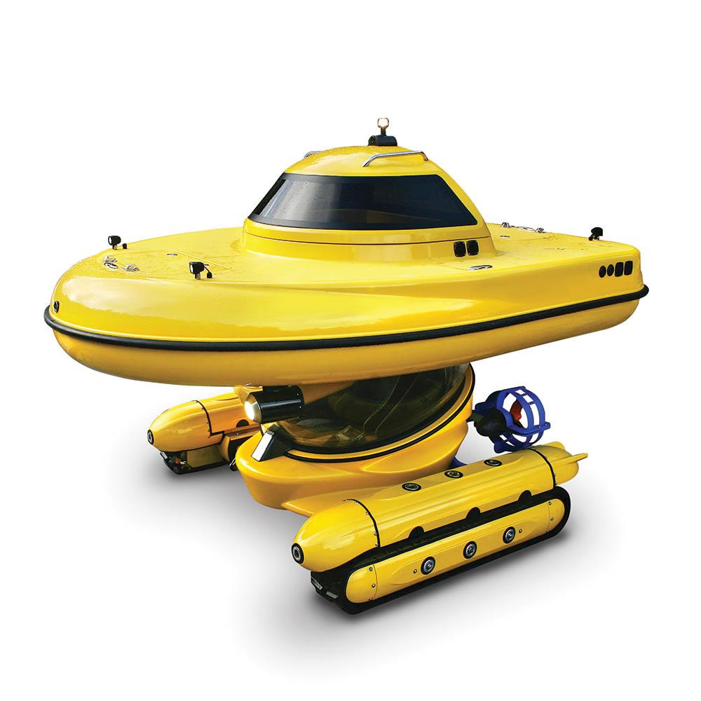 Amphibious Sub Surface Watercraft The Green Head