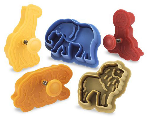 Animal Cracker Circus Cookie Cutters - The Green Head