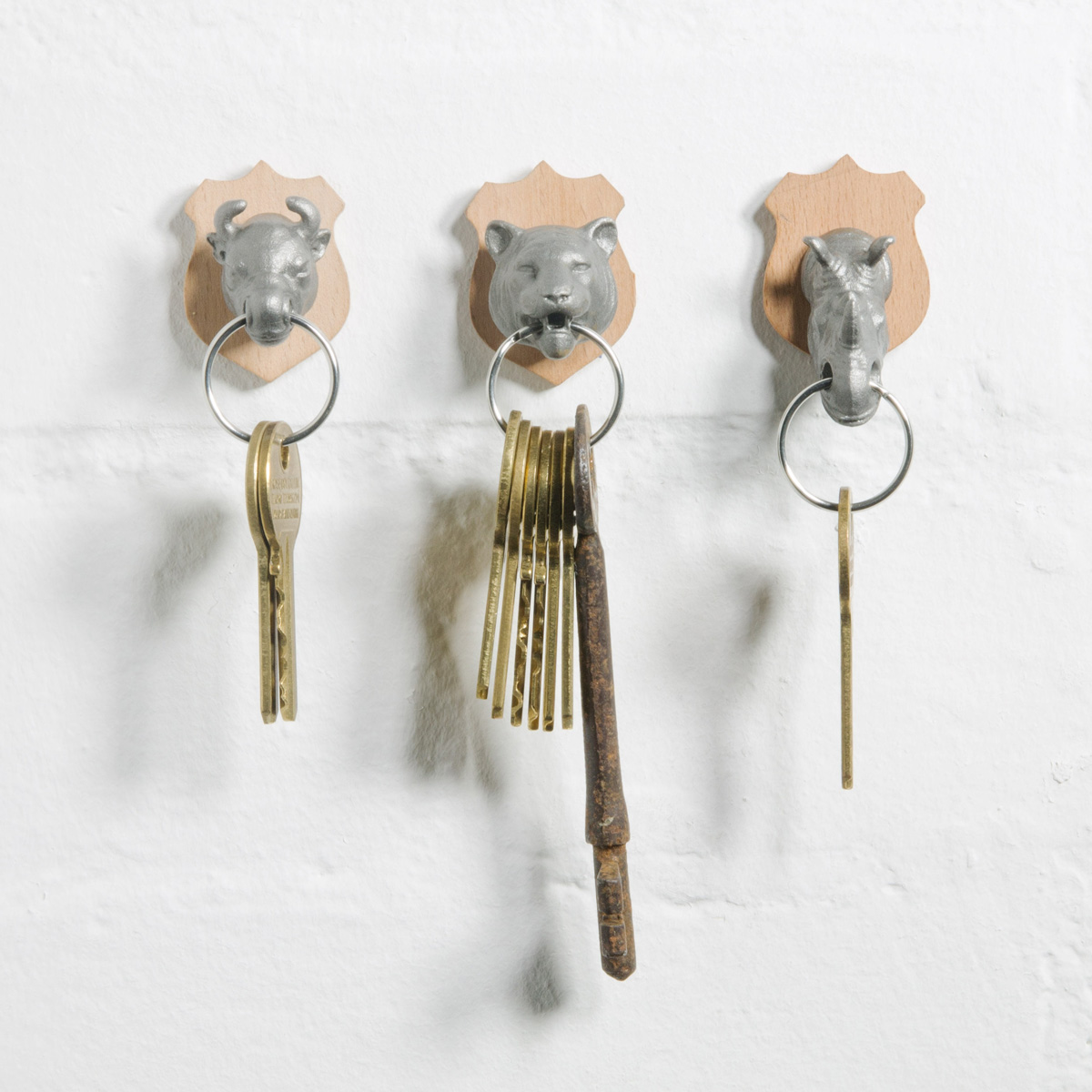 Animal Head Key Holders The Green Head