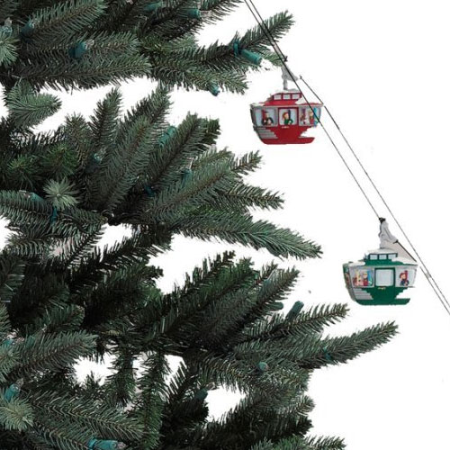 Mr Christmas Animated Tree Cable Cars