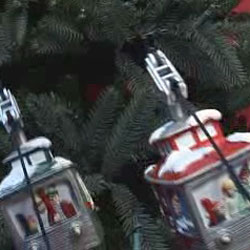 Mr Christmas Animated Christmas Tree Cable Cars The
