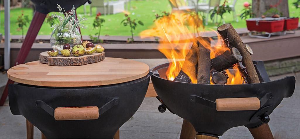 Aniva Cosa Bbq Transforming Chiminea Grill Fire Pit