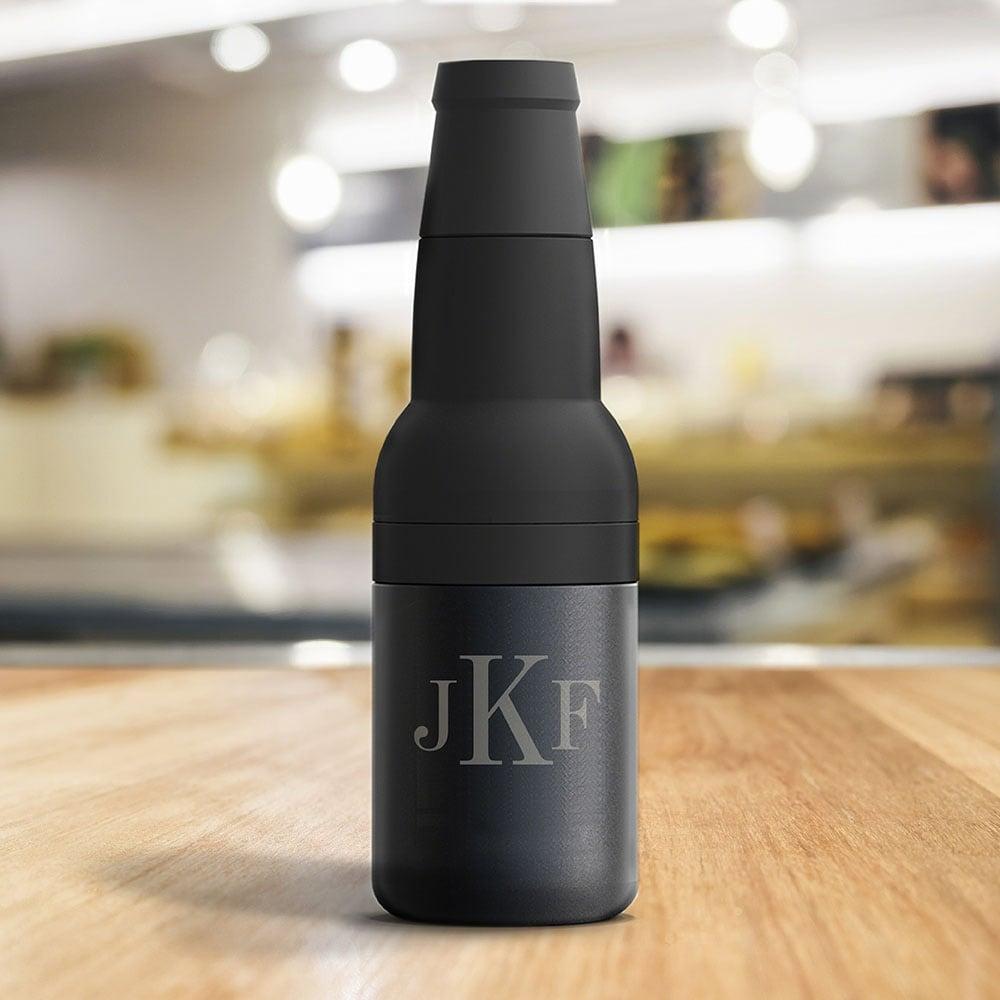 Apex Vacuum Stainless Steel Beer Bottle Or Can Koozie