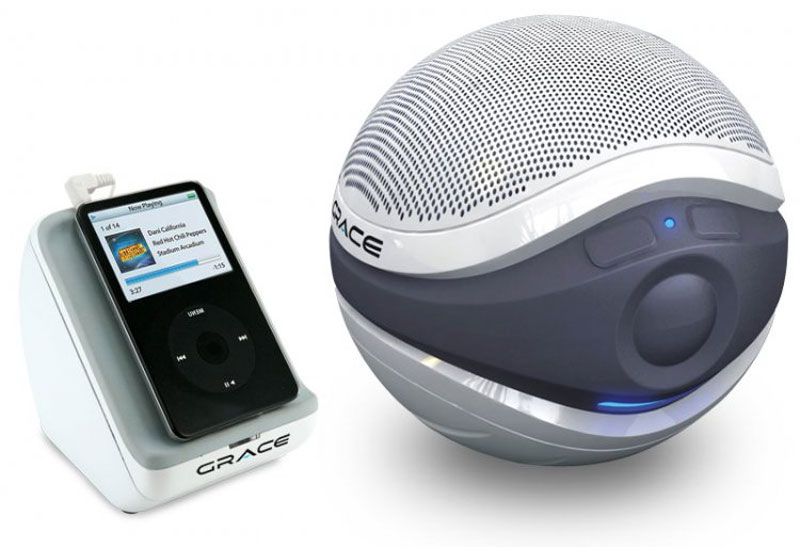 Aqua sounders floating wireless speakers the green head for Waterproof speakers for swimming pools
