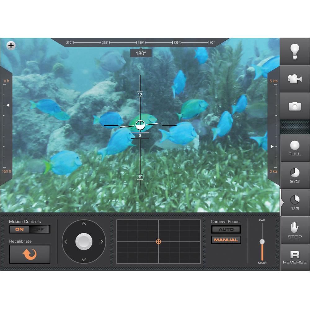 Aquabotix Hydroview Sport Remote Underwater Hd Video Camera