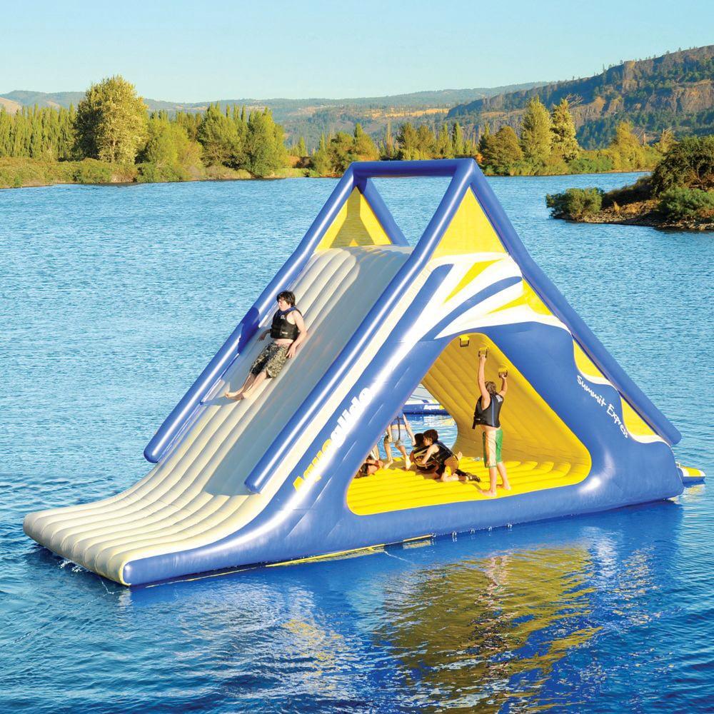 aquaglide summit express 16 u0027 gigantic inflatable water slide