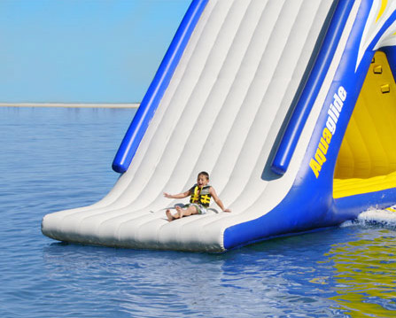 Inflatable Water Slide aquaglide summit express - 16' gigantic inflatable water slide