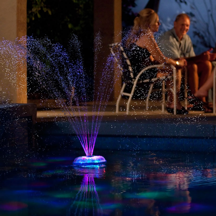 Aquaglow Dancing Waters Light And Fountain Show The