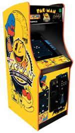 Pacman Table Game >> Classic Arcade Games Collection - Full-Size Authentic Replicas - TheGreenHead.com