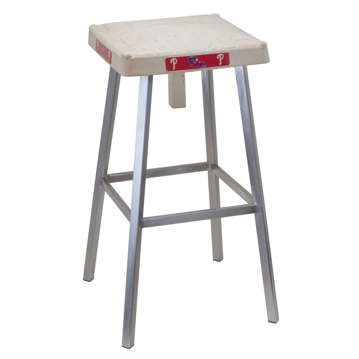 Authentic Baseball Base Bar Stool The Green Head