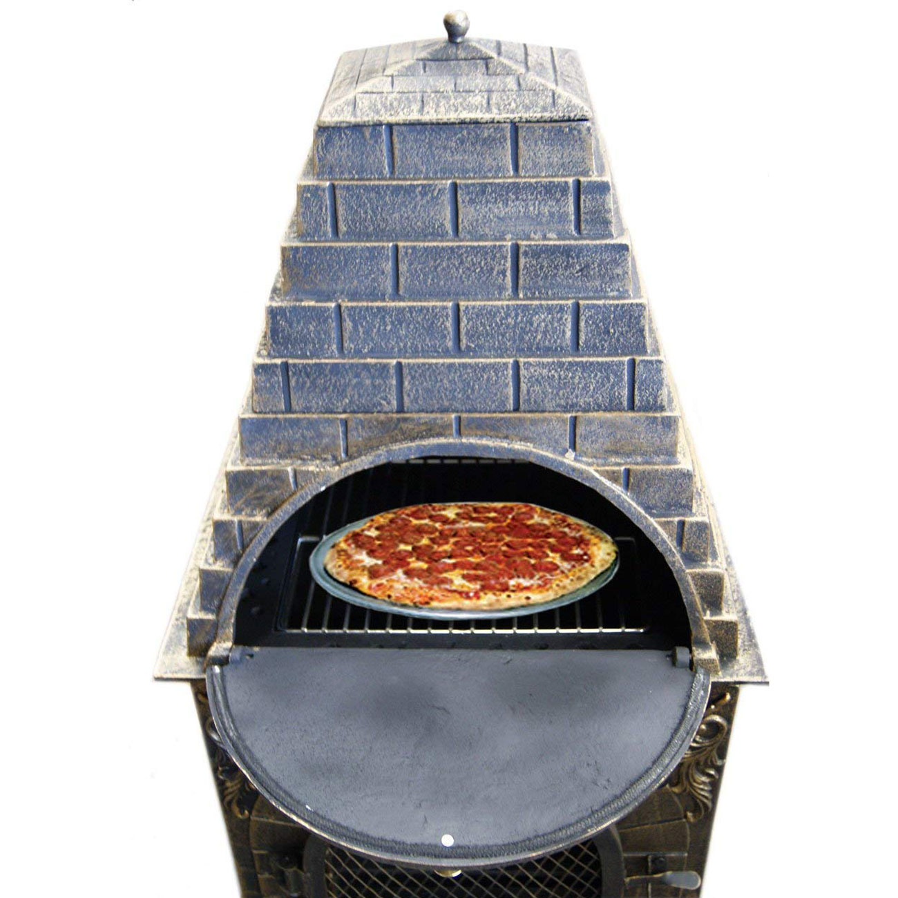 Aztec Allure Wood Fired Pizza Oven Grill And Fireplace