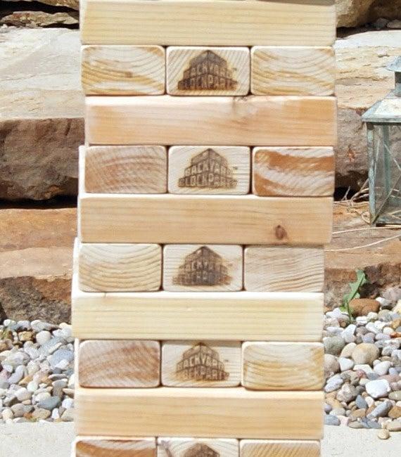 Backyard Block Party Massive Outdoor Wooden Block Game