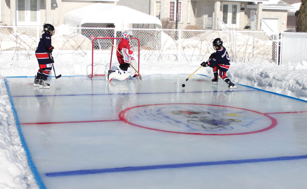 Ultimate Backyard Rink : Backyard Ice Rink  The Green Head