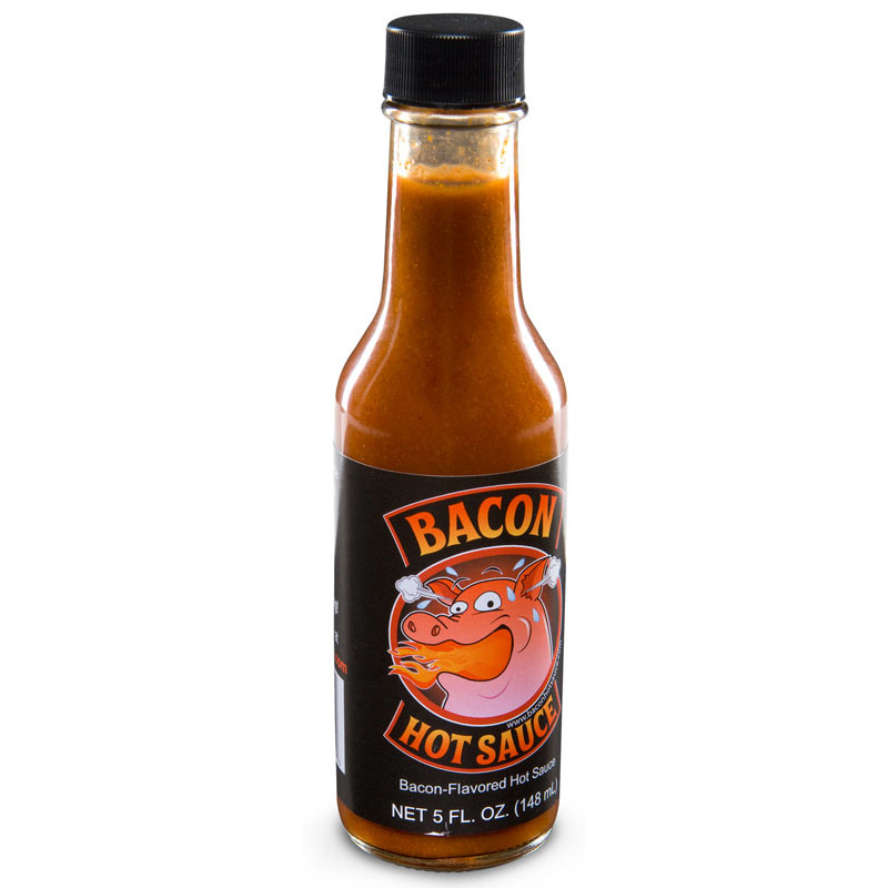 Bacon Hot Sauce - The Green Head