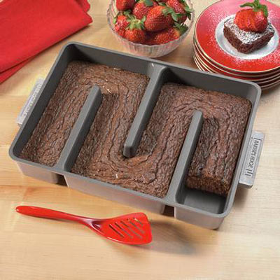 Baker S Edge Brownie Pan For Edge Lovers