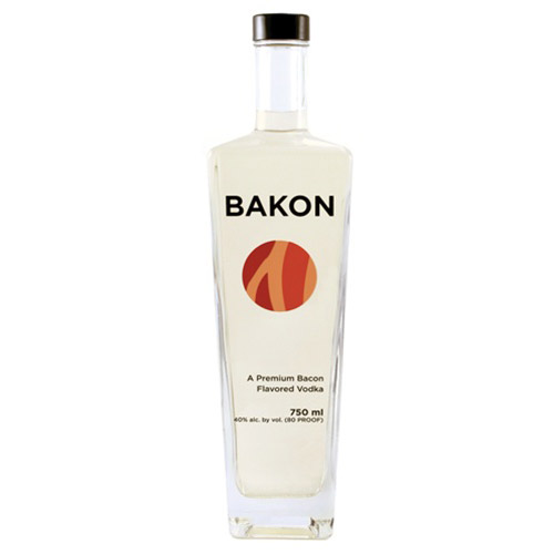 Bakon vodka vodka with a savory bacon flavor the for Flavored vodka mixed drinks