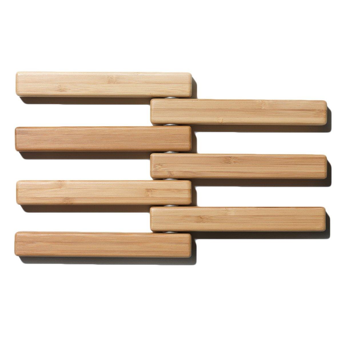 bamboo hot pot expandable trivet. Black Bedroom Furniture Sets. Home Design Ideas
