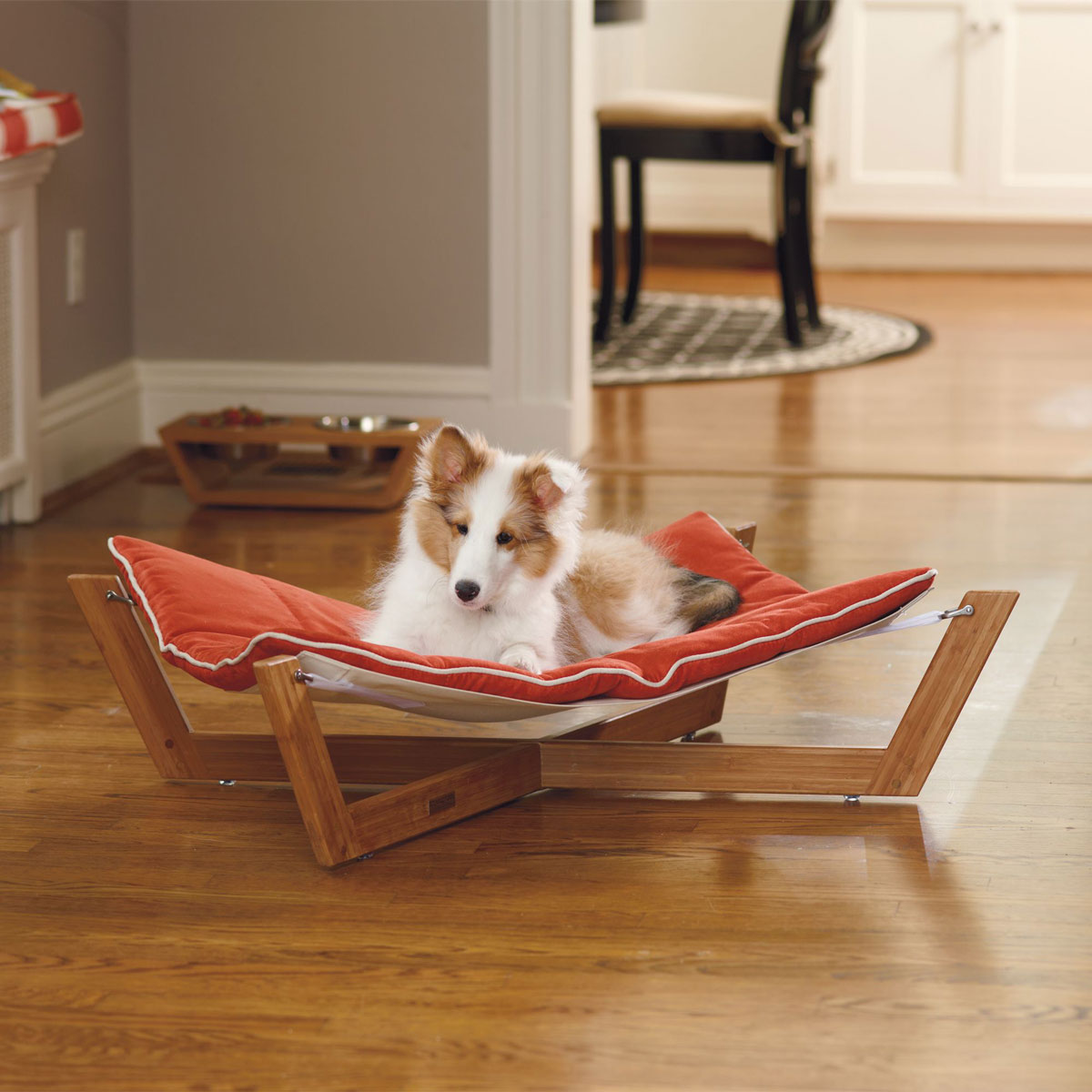 bambu pet hammock the green head