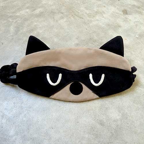 Bandit The Raccoon Sleep Eye Mask - The Green Head Raccoon Eye Mask