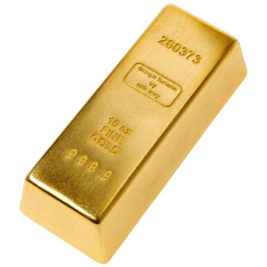 Bar Of Gold Door Stop The Green Head