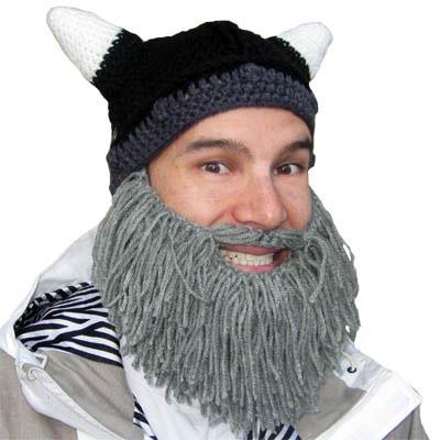 Barbarian Beard Head Winter Caps 00a12cc0063