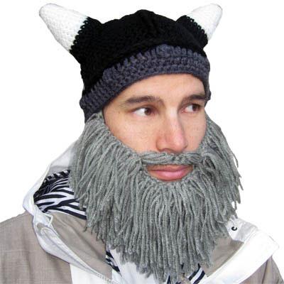 Barbarian Beard Head Winter Caps 3fd86430584