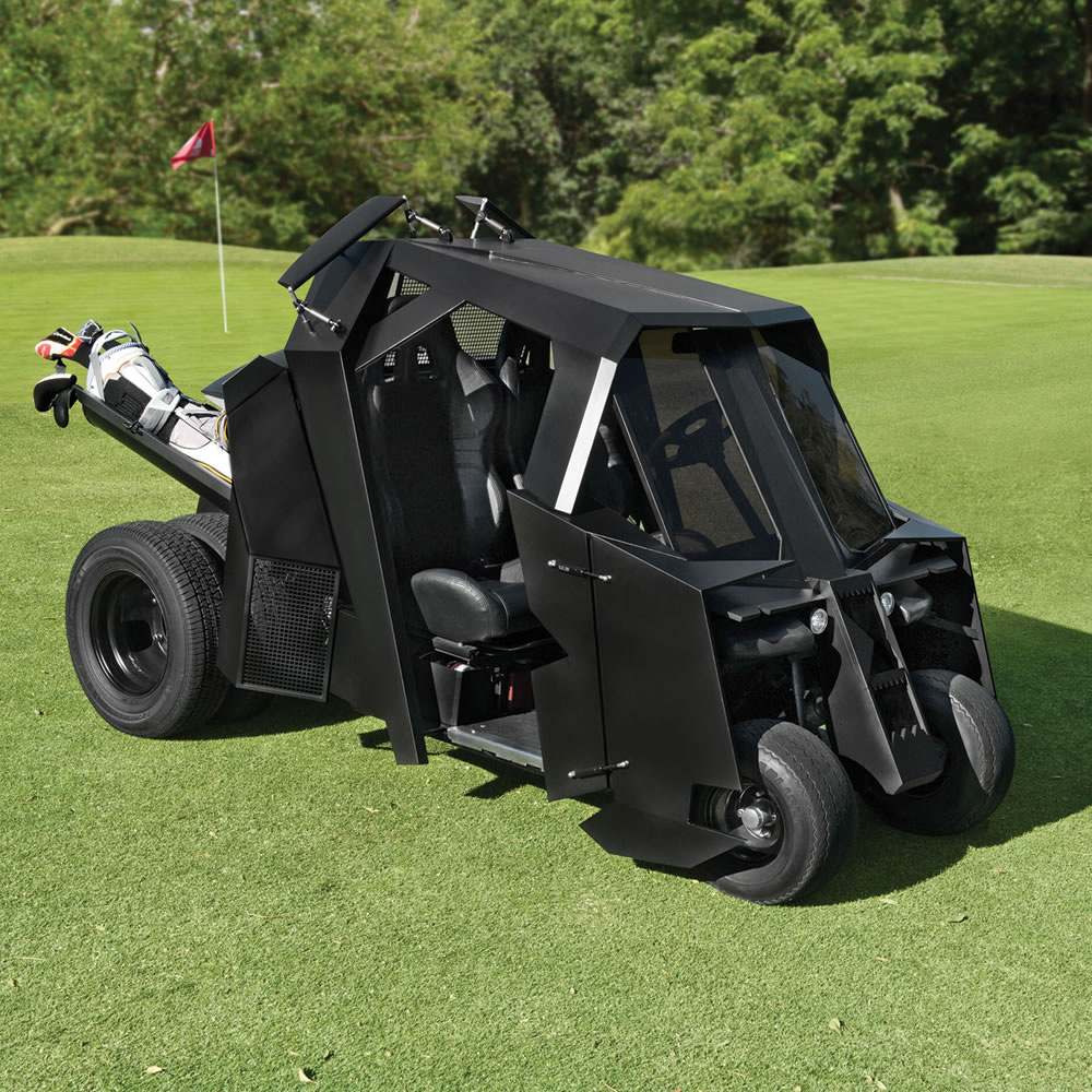 Peterbilt Golf Cart >> Batmobile Tumbler Golf Cart - The Green Head