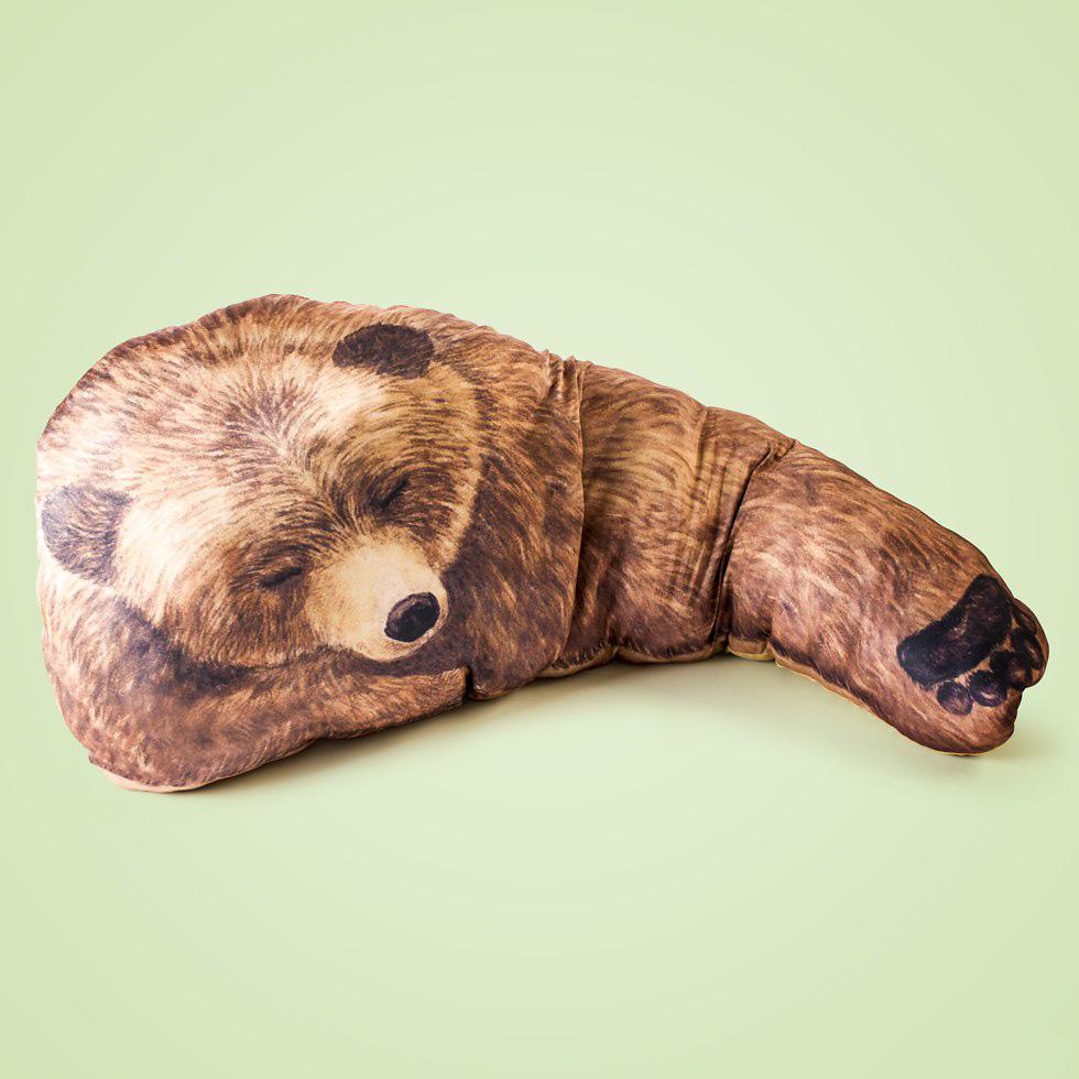 Bear Hug Pillows The Green Head